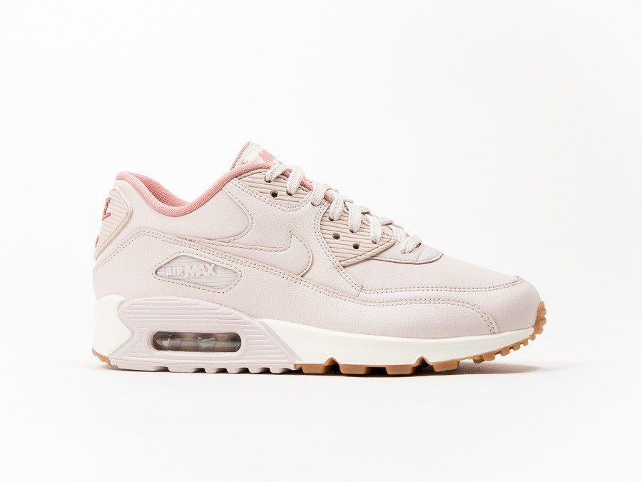 half off 754c9 89440 Nike Air Max 90 Leather Wmns Rosa-921304-600-img-1 ...