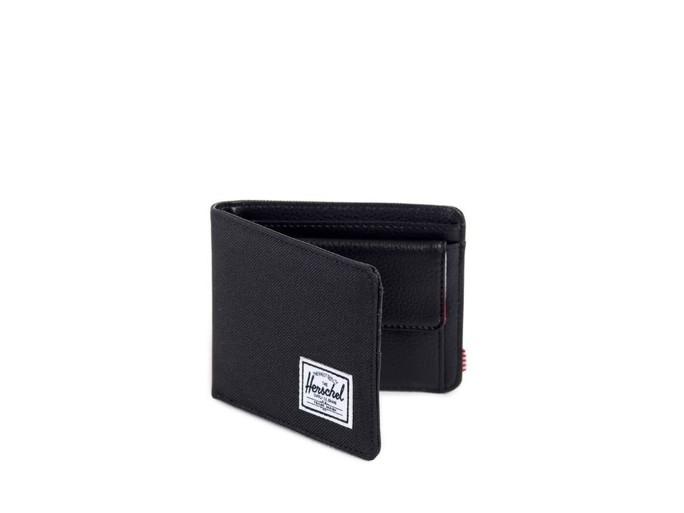 Monedero Herschel Hank Wallet Plus 600D Black-10149-00001-OS-img-1