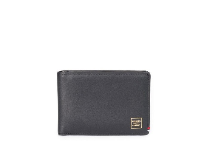Monedero Herschel Merritt Wallet Black Leather-10221-01354-OS-img-2