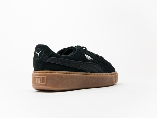 2319769f4dc75 Puma Suede Platform Animal Black Silver - 365109-01 - TheSneakerOne