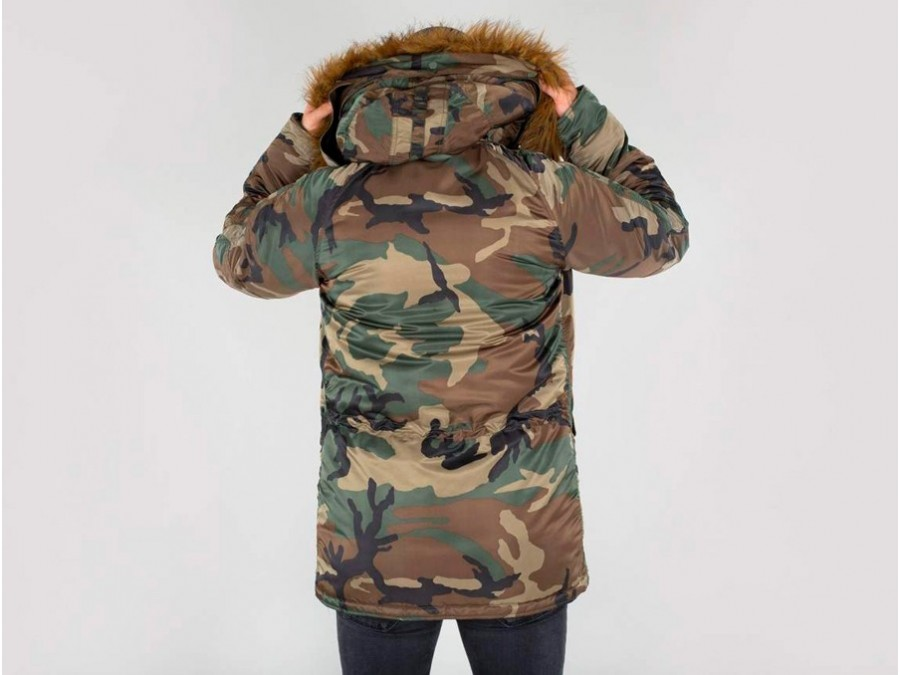 Vf Camo Parka Thesneakerone 103141 408 59 Alpha Industries N3b 7xXXS1tq