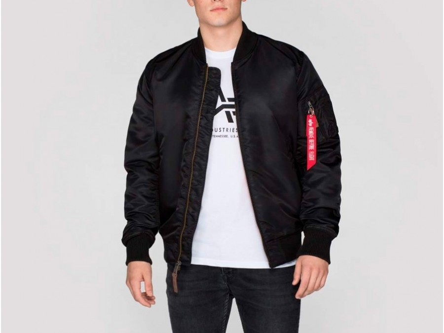 Cazadora Alpha Industries MA-1 VF 59 LONG Black