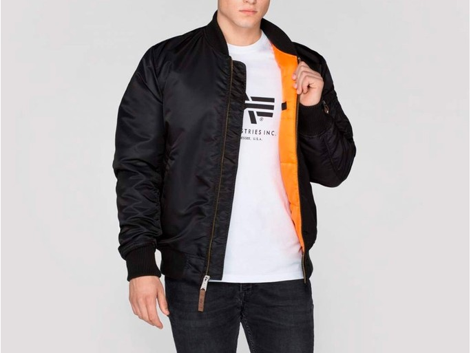 Cazadora Alpha Industries MA-1 VF 59 LONG Black-168100-03-img-2