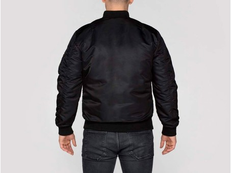 Cazadora Alpha Industries MA-1 VF 59 LONG Black-168100-03-img-4