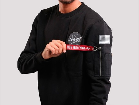 Sudadera Alpha Industries SPACE SHUTTLE SWEATER Black-178307-03-img-2