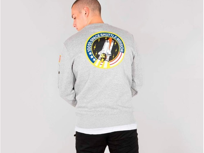 Sudadera Alpha Industries SPACE SHUTTLE SWEATER Grey-178307-17-img-2