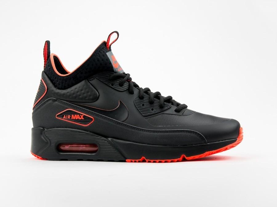 Nike Air Max 90 Ultra Mid Winter Black Kicks Deals