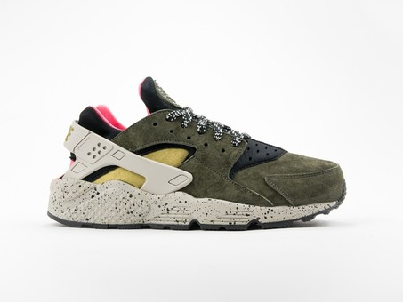 Nike Air Huarache Run Premium Black/Desert Moss-704830-010-img-1