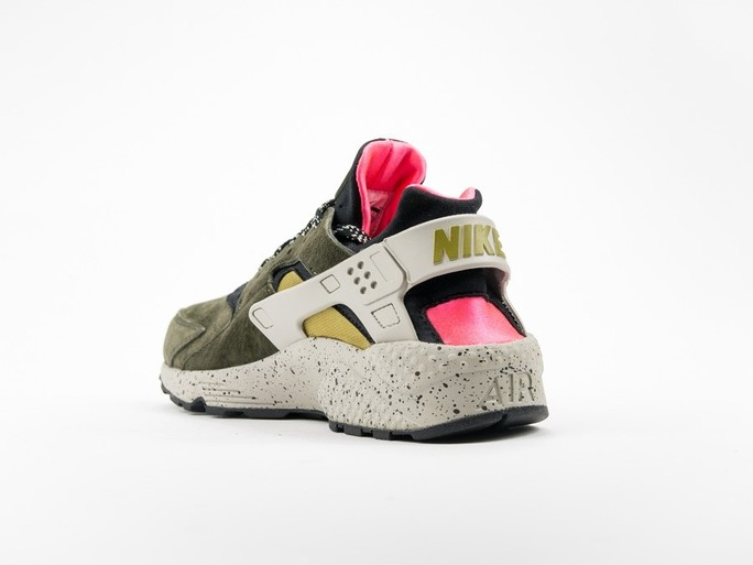 Nike Air Huarache Run Premium Black/Desert Moss-704830-010-img-4