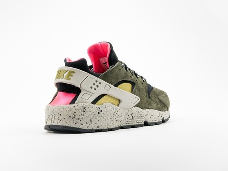 Nike Air Huarache Run Premium Black/Desert Moss-704830-010-img-5