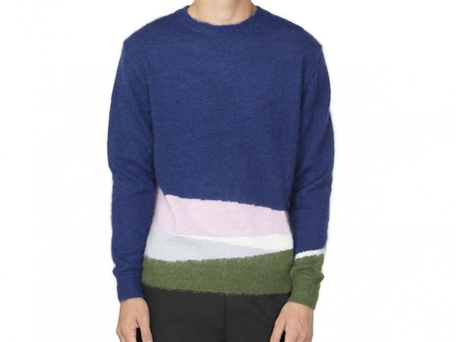 Jersey Stussy Color Bleed Mohair