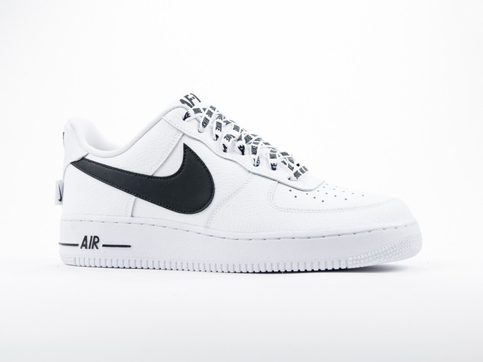 separation shoes 8b068 b4d00 Nike Air Force 1 07 LV8 White Black - 823511-103 - TheSneakerOne