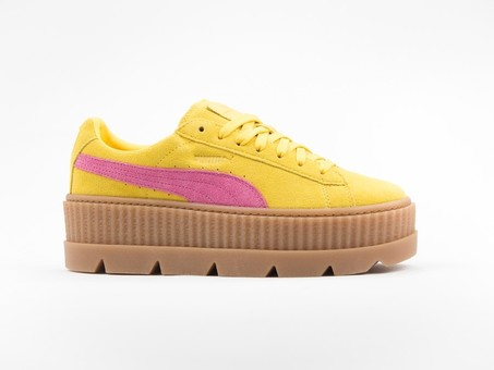Puma x Fenty Cleated Creeper Suede Yellow by Rihanna-366268-03-img-1