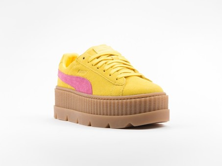 Puma x Fenty Cleated Creeper Suede Yellow by Rihanna-366268-03-img-3
