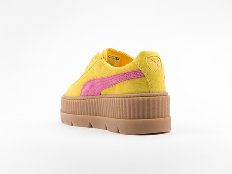 Puma x Fenty Cleated Creeper Suede Yellow by Rihanna-366268-03-img-4