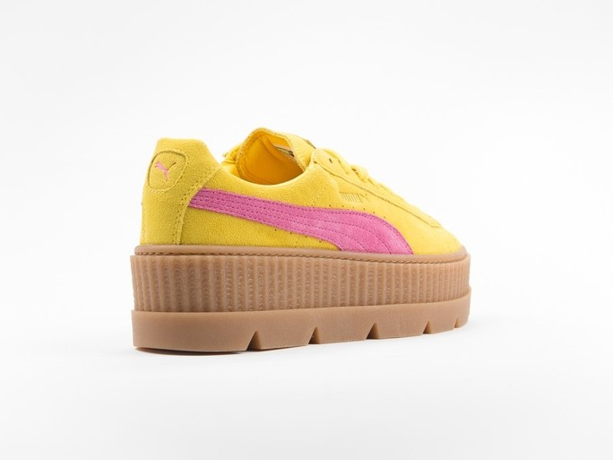 Puma x Fenty Cleated Creeper Suede Yellow by Rihanna-366268-03-img-5