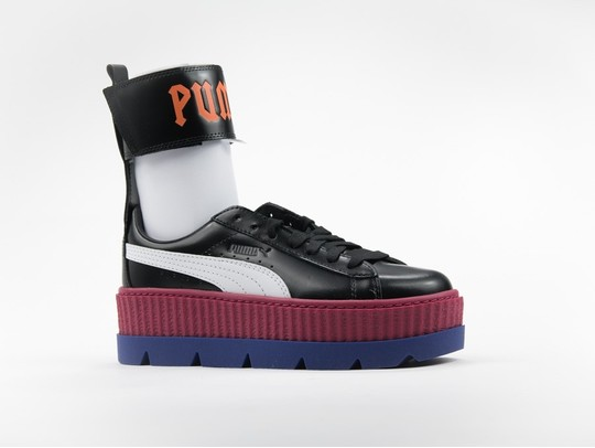 Puma x Fenty Ankle Strap Creeper Black White Red-366264-01-img-1