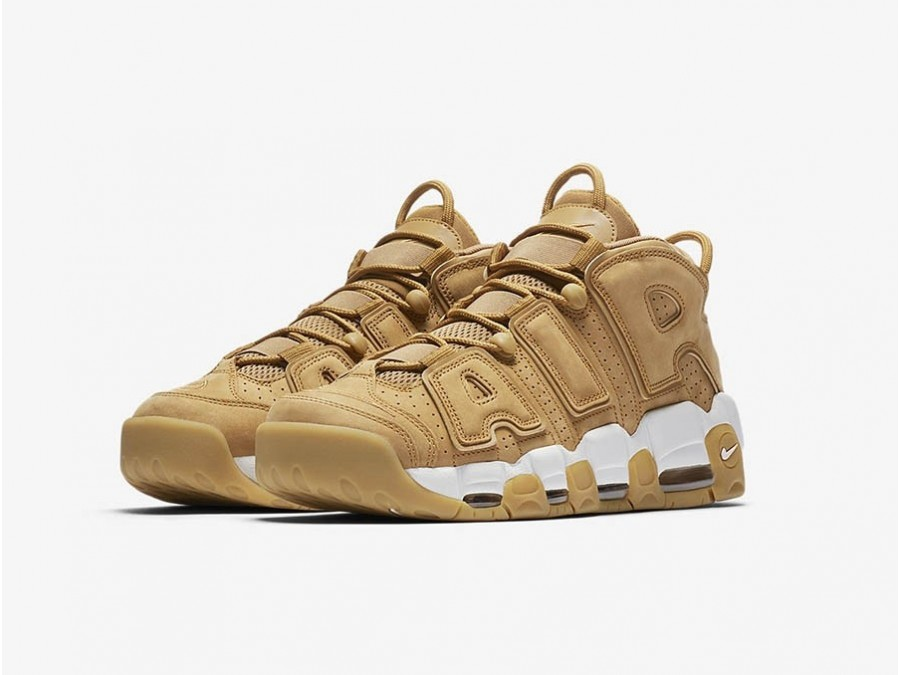 Nike Air More Uptempo Premium Flax