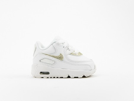 Nike Air Max 90 Leather (TD) Toddler-833379-103-img-1
