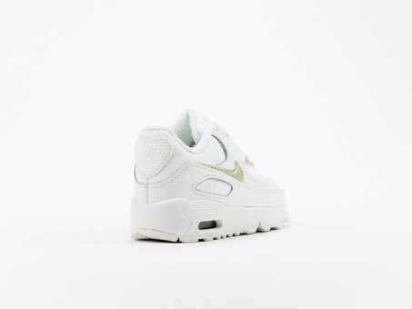 Nike Air Max 90 Leather (TD) Toddler-833379-103-img-3