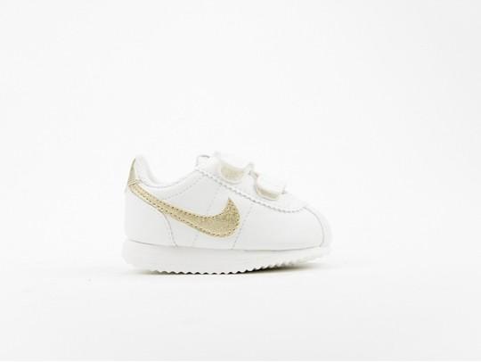 Nike Cortez Basic SL TD White Gold Kids-904769-105-img-1