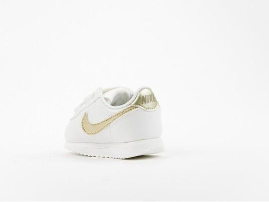 Nike Cortez Basic SL TD White Gold Kids-904769-105-img-4