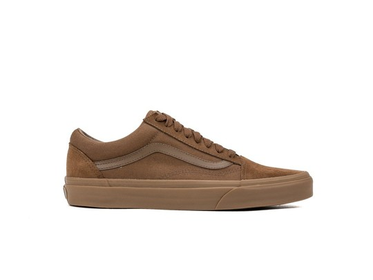 59e04b90ef Vans Old Skool Suede Canvas Dark Earth-VA38G1QW2-img-1