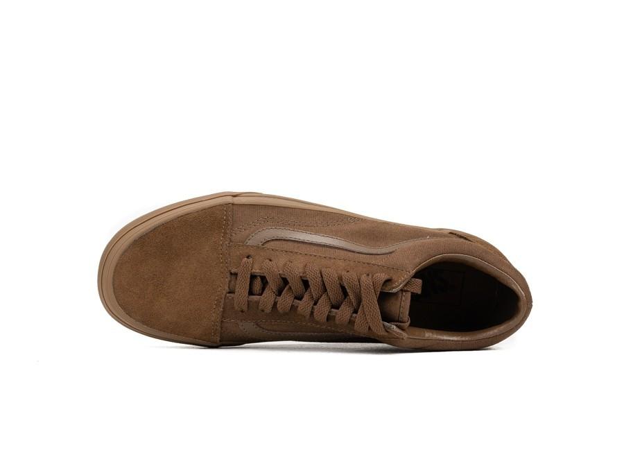 105919d7321 Vans Old Skool Suede Canvas Dark Earth - VA38G1QW2 - TheSneakerOne