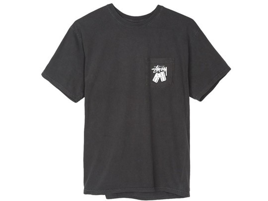 Stussy Dominios Pig. Dyed Pkt Tee-1944129-BL-img-1