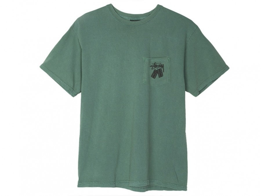 Stussy Dominios Pig. Dyed Pkt Tee-1944129-GR-img-1