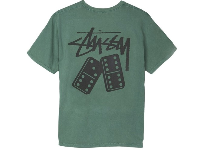 Stussy Dominios Pig. Dyed Pkt Tee-1944129-GR-img-2