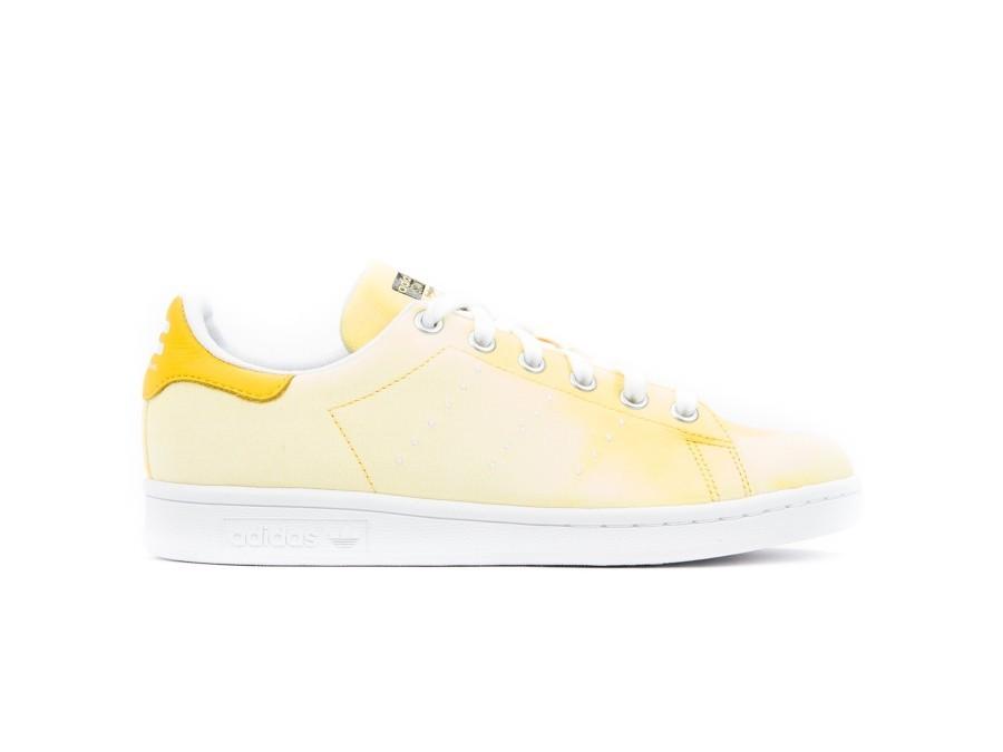 adidas Pharrell Williams Hu Holi Stan Smith Yellow-AC7042-img-1