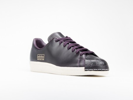 adidas Superstar 80S Clean Leather Burgundy-CQ2170-img-2