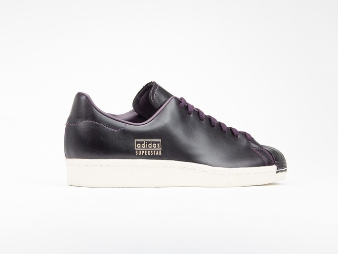 adidas Superstar 80S Clean Leather Burgundy-CQ2170-img-3