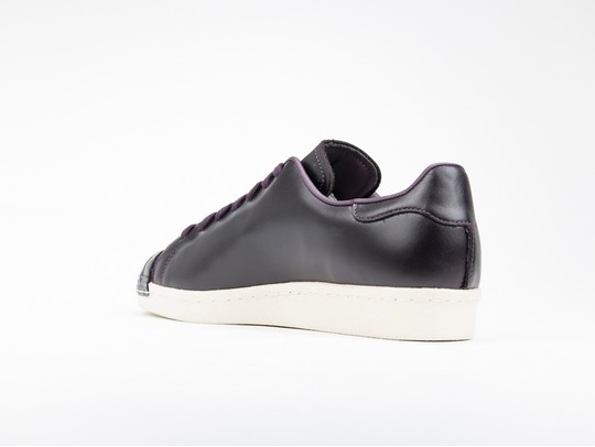 adidas Superstar 80S Clean Leather Burgundy-CQ2170-img-4