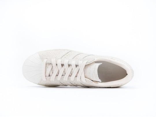 adidas Superstar 80S Lino White Wmns-CQ2515-img-5