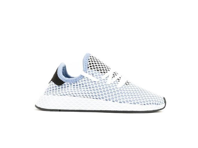 adidas Deerupt Runner White Blue Wmns-CQ2912-img-1