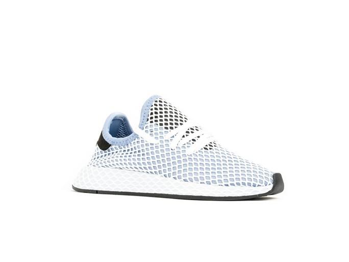 adidas Deerupt Runner White Blue Wmns-CQ2912-img-2