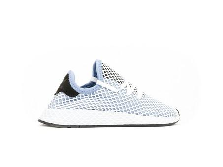 adidas Deerupt Runner White Blue Wmns-CQ2912-img-3