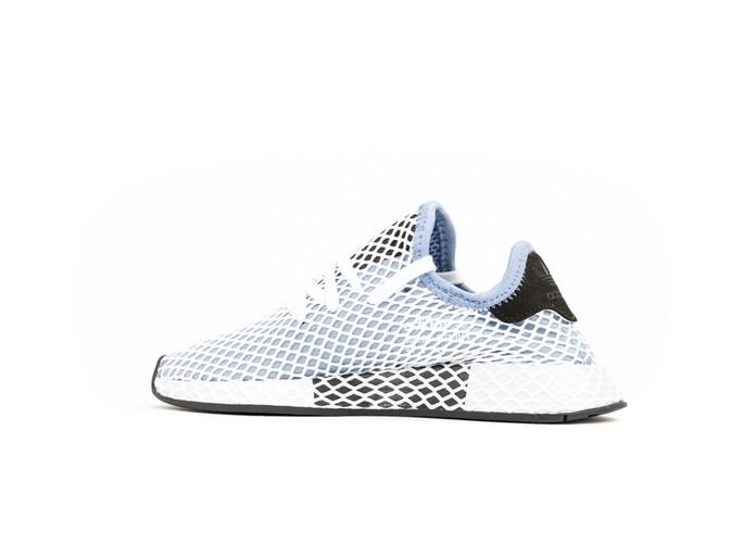 adidas Deerupt Runner White Blue Wmns-CQ2912-img-4