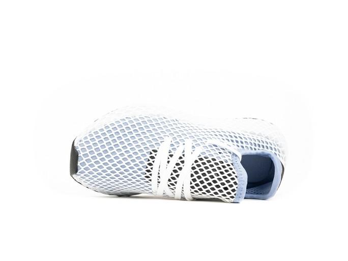 adidas Deerupt Runner White Blue Wmns-CQ2912-img-6