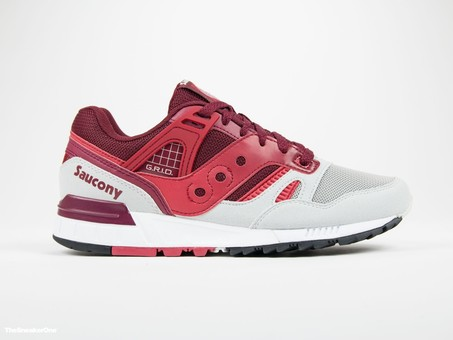 Saucony Grid SD Red/Light Grey-S70217-2-img-1