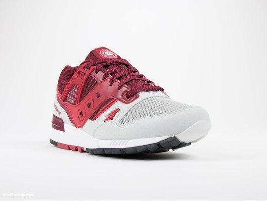 Saucony Grid SD Red/Light Grey-S70217-2-img-2
