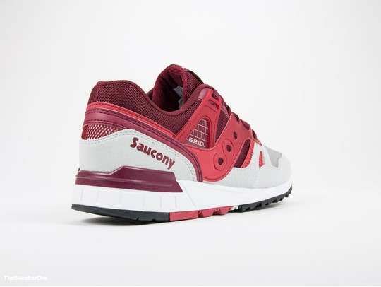 Saucony Grid SD Red/Light Grey-S70217-2-img-3