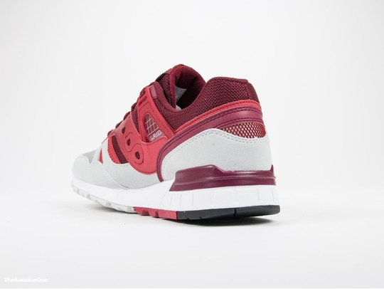 Saucony Grid SD Red/Light Grey-S70217-2-img-4