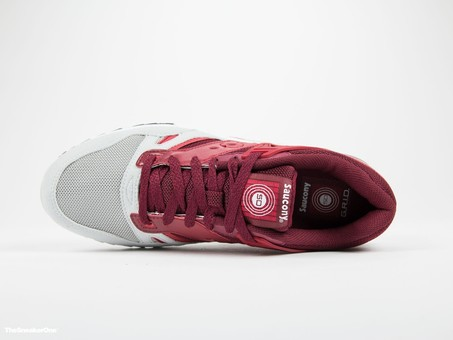 Saucony Grid SD Red/Light Grey-S70217-2-img-6