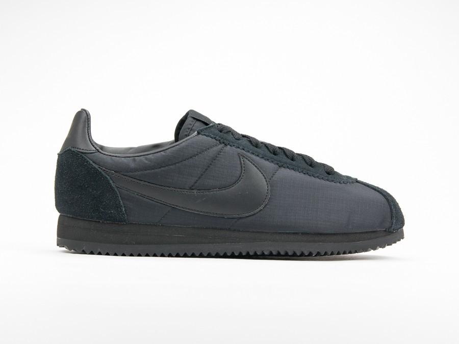 Nike Classic Cortez Nylon Triple Black