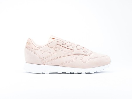 Reebok Clasic Leather Nude Nubuck Rose Cloud Wmns-CN1504-img-1