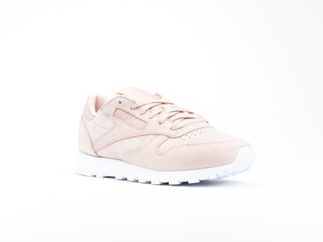 Reebok Clasic Leather Nude Nubuck Rose Cloud Wmns-CN1504-img-2