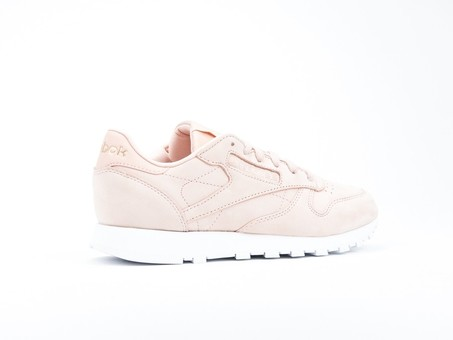 Reebok Clasic Leather Nude Nubuck Rose Cloud Wmns-CN1504-img-3